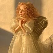 Куклы и игрушки ручной работы. Ярмарка Мастеров - ручная работа Рождественский ангел(2). Handmade.