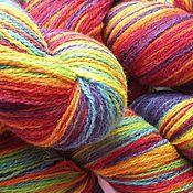 Пряжа ручной работы. Ярмарка Мастеров - ручная работа Кауни Rainbow 8/1, 8/2. Handmade.