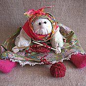 Куклы и игрушки ручной работы. Ярмарка Мастеров - ручная работа Бабка характерная Рукодельница. Handmade.