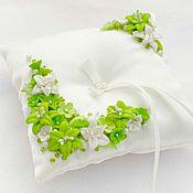 Свадебный салон ручной работы. Ярмарка Мастеров - ручная работа Свадебные подушечки для колец. Handmade.