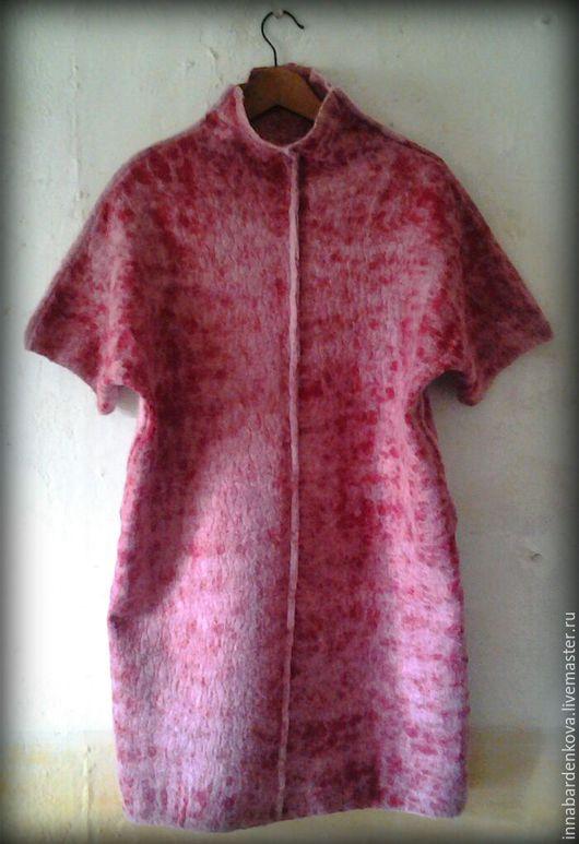 """Платья ручной работы. Ярмарка Мастеров - ручная работа. Купить платье, туника, свитер """" Клюква в сахаре """". Handmade."""