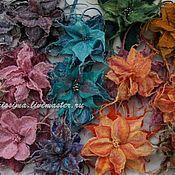 Украшения handmade. Livemaster - original item Brooches -flowers Twelve months. Handmade.