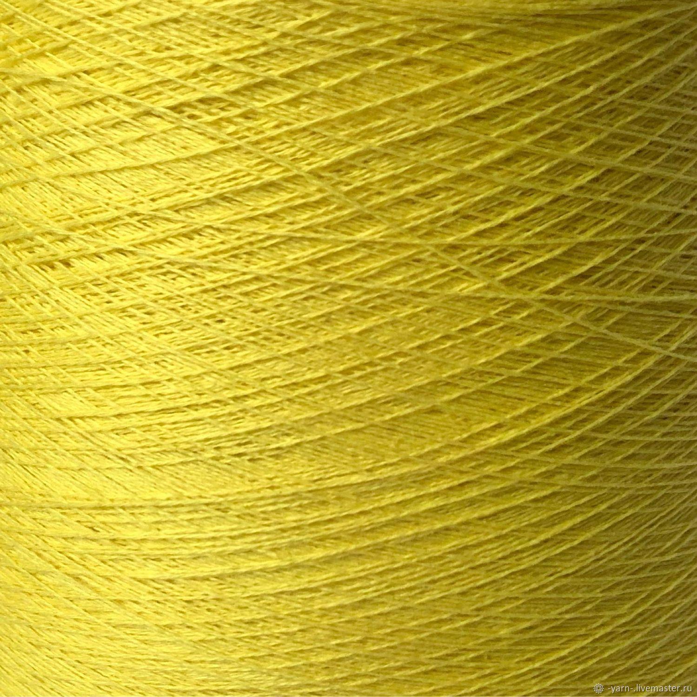 Пряжа Кашемир 2/28 лимон – купить на Ярмарке Мастеров – NF1YGRU | Пряжа, Санкт-Петербург