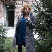 "Одежда ручной работы. Ярмарка Мастеров - ручная работа Валяное пальто ""Silver"". Handmade."