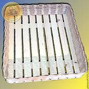 Для дома и интерьера ручной работы. Ярмарка Мастеров - ручная работа Лоток плетеный для кондитерских изделий. Handmade.