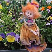 """Куклы и игрушки ручной работы. Ярмарка Мастеров - ручная работа """" Анютка, нежный ангелочек -хранитель семьи, дома и цветущего сада!. Handmade."""