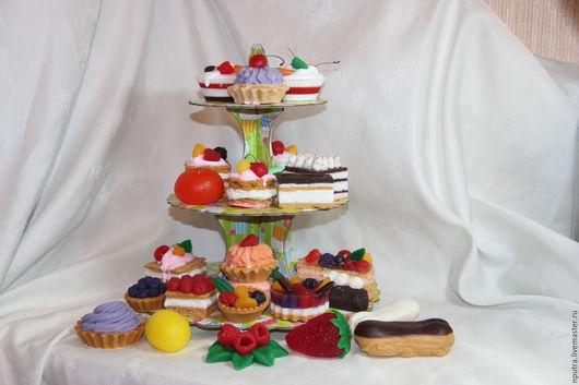 Персональные подарки ручной работы. Ярмарка Мастеров - ручная работа. Купить сказка сладкоежки, сидящего на диете. Handmade. Комбинированный, эклер