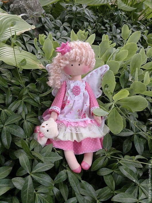 Коллекционные куклы ручной работы. Ярмарка Мастеров - ручная работа. Купить Princess Rosalie. Handmade. Розовый, детская комната, холлофайбер