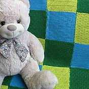 Для дома и интерьера handmade. Livemaster - original item Plaid baby knit color motifs. Handmade.