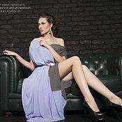 Одежда ручной работы. Ярмарка Мастеров - ручная работа SALE Двухцветное платье в пол. Handmade.