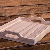 Для дома и интерьера handmade. Livemaster - original item Tray for Breakfast of white ash. Handmade.