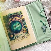 Канцелярские товары handmade. Livemaster - original item Softbook in the style of Lord of the Rings. Handmade.