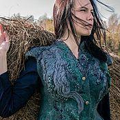 """Одежда ручной работы. Ярмарка Мастеров - ручная работа Жилет """"Эльфийская принцесса"""". Handmade."""