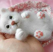 Куклы и игрушки ручной работы. Ярмарка Мастеров - ручная работа Котёнок Яська. Handmade.