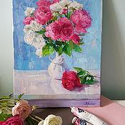 Картины и панно handmade. Livemaster - original item Rose Painting