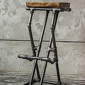 Для дома и интерьера handmade. Livemaster - original item Bar stool in the Loft style