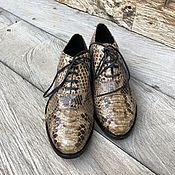 Обувь ручной работы handmade. Livemaster - original item Shoes from Python. Handmade.