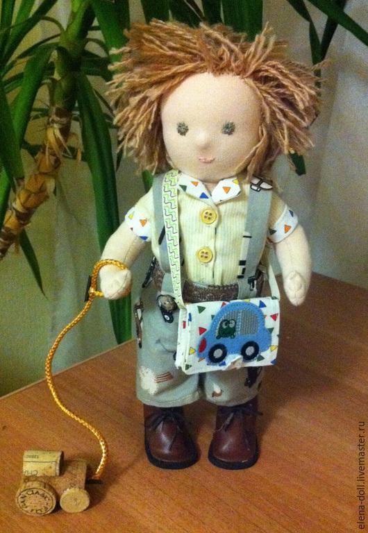 Вальдорфская игрушка ручной работы. Ярмарка Мастеров - ручная работа. Купить Антошка. Вальдорфская кукла, игрушка ручной работы. Handmade.