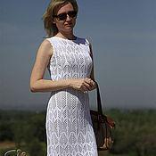 """Одежда ручной работы. Ярмарка Мастеров - ручная работа Платье ажурное летнее """"Белые веточки"""". Handmade."""