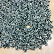Для дома и интерьера handmade. Livemaster - original item linen knitted Mat massage. Handmade.