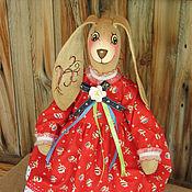 """Куклы и игрушки ручной работы. Ярмарка Мастеров - ручная работа Текстильная игрушка. """"Зайка Таша"""". Handmade."""