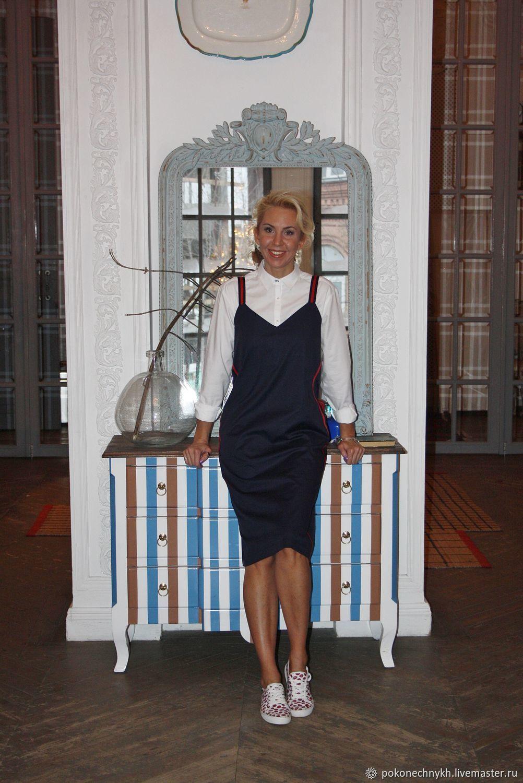 Платье с лампасами  СПОРТШИК - Pokonechnykh.business – купить в ... 91cdb358bdea6
