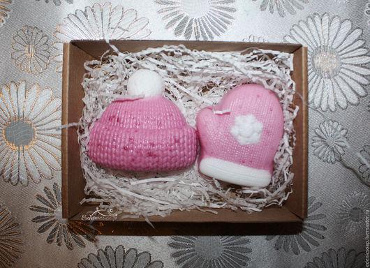 Подарочный набор мыла ручной работы. Зимняя коллекция. Новогодние подарки.Новый год.Edenicsoap.