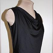 Одежда handmade. Livemaster - original item Summer top with cascade and lace insert. Handmade.