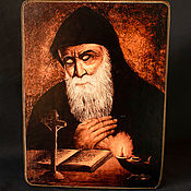 Картины и панно handmade. Livemaster - original item Icon Of Saint Charbel. Handmade.