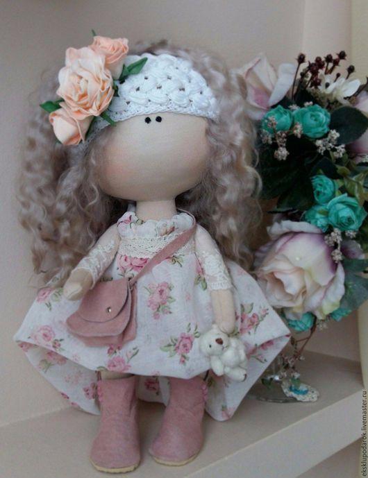 Куклы тыквоголовки ручной работы. Ярмарка Мастеров - ручная работа. Купить кукла малышка. Handmade. Бежевый, подарок ребенку