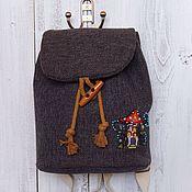 Сумки и аксессуары ручной работы. Ярмарка Мастеров - ручная работа Рюкзак детский, детский рюкзачок, рюкзак на ребенка 3 года. Handmade.