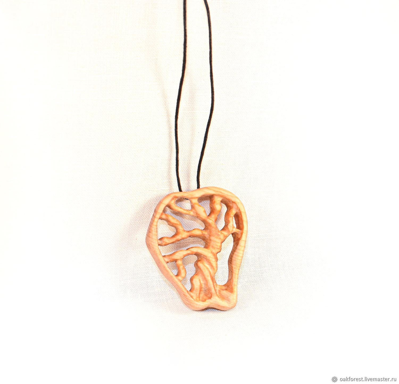 Pendant-amulet made of wood ' Tree of life '(cedar), Pendant, Domodedovo,  Фото №1