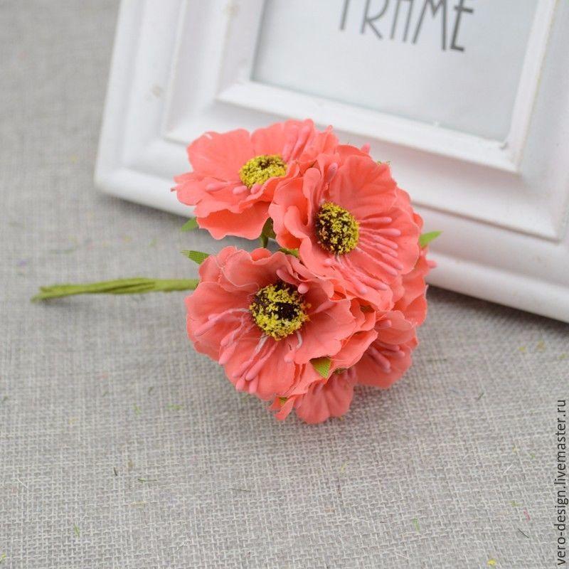 Тканевые цветы скрапбукинг купить доставка цветов в вилейке