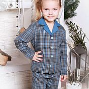 Одежда детская handmade. Livemaster - original item Pyjamas for a boy or girl from pyjama family. Handmade.