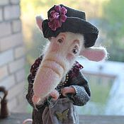 Куклы и игрушки ручной работы. Ярмарка Мастеров - ручная работа Дама приятная во всех отношениях). Handmade.