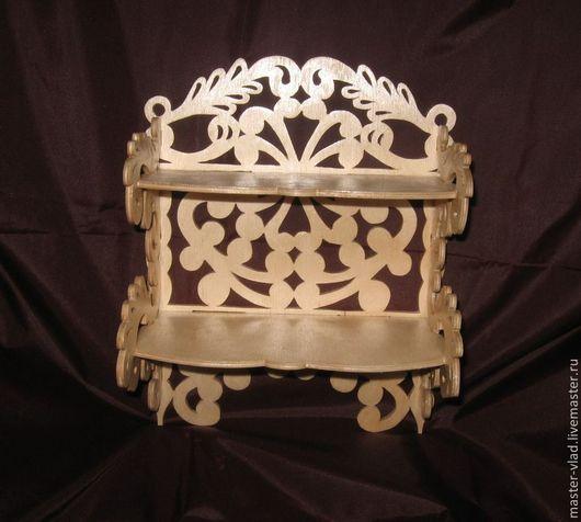 Мебель ручной работы. Ярмарка Мастеров - ручная работа. Купить Полочка двухъярусная. Handmade. Для дома и интерьера, подарок