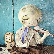 Куклы и игрушки ручной работы. Ярмарка Мастеров - ручная работа Луна и ее музыка. Handmade.