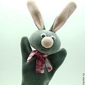 Куклы и игрушки ручной работы. Ярмарка Мастеров - ручная работа Заяц,игрушка для кукольного театра. Handmade.