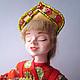 """Народные куклы ручной работы. Ярмарка Мастеров - ручная работа. Купить кукла интерьерная в русском стиле """"Певунья"""". Handmade."""