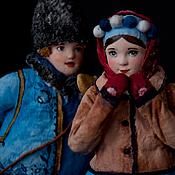 """Куклы и игрушки ручной работы. Ярмарка Мастеров - ручная работа Художественная кукла """"Василёк и Васелинка"""". Handmade."""