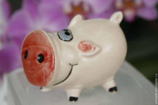 Статуэтки ручной работы. Ярмарка Мастеров - ручная работа. Купить пятачки на выбор ;). Handmade. Бледно-розовый, микро