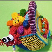 Куклы и игрушки ручной работы. Ярмарка Мастеров - ручная работа .Кубик-развивашка,№1. Handmade.