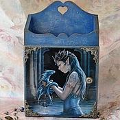 """Для дома и интерьера ручной работы. Ярмарка Мастеров - ручная работа Ключница """"Таинственный замок"""". Handmade."""