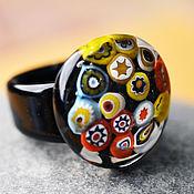 """Украшения ручной работы. Ярмарка Мастеров - ручная работа Кольцо """" Мозаика"""". Handmade."""