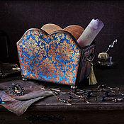 """Для дома и интерьера ручной работы. Ярмарка Мастеров - ручная работа Короб для мелочей """" Шеверни"""". Handmade."""