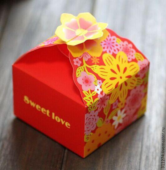 Упаковка ручной работы. Ярмарка Мастеров - ручная работа. Купить Коробочка для упаковки подарка. 2 цвета.. Handmade. Комбинированный