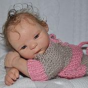 Куклы и игрушки ручной работы. Ярмарка Мастеров - ручная работа Кукла мини - реборн Морин. Handmade.