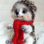 Куклы и игрушки ручной работы. Ярмарка Мастеров - ручная работа Валяная игрушка  Ежик Прошка. Handmade.
