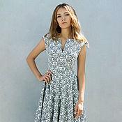 Одежда handmade. Livemaster - original item Jacquard dress