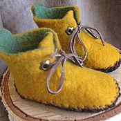 """Обувь ручной работы. Ярмарка Мастеров - ручная работа Пинетки """"Ковбойские"""". Handmade."""